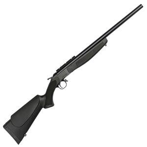 "CVA Hunter Single Shot Break Action Rifle .44 Magnum 22"" Barrel DuraSight Scope Rail Mount CrushZone Recoil Pad Synthetic Forend/Stock Matte Black Finish"