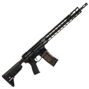 "PWS MK116 MOD 2-M AR-15 Semi Auto Rifle .223 Wylde 16"" Barrel 30 Rounds Free Float PicLok Hand Guard FSC 556 Compensator BCM Stock/Pistol Grip Matte Black Finish"