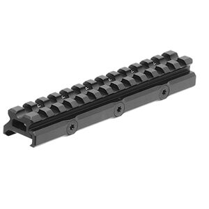 UTG Super Slim 20 MOA Elevated Picatinny Mount, 13 Slot