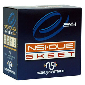 "NobelSport Due Skeet 12 Ga 2.75"" #9 Lead 7/8oz 25 Rounds"