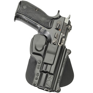 Fobus Holster CZ 75,75BD,75D Compact Right Hand Paddle Attachment Polymer Black