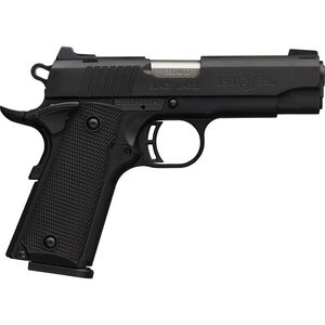 """Browning 1911-380 Black Label Special Compact .380 ACP Semi Auto Pistol 3.625"""" Barrel 8 Rounds Composite Grips Steel Slide Polymer Frame Matte Black"""