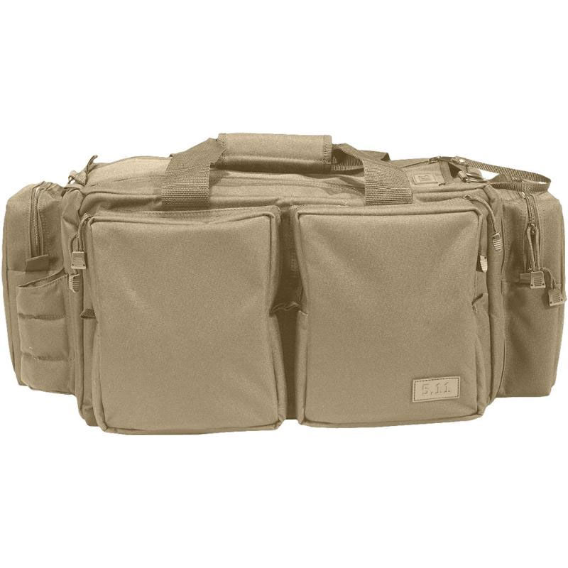 5.11 Tactical Range Ready Bag All Weather 600D Nylon YKK Zippers Sandstone 59049-328