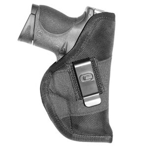 Crossfire Shooting Gear Grip Clip Pocket Holster Compact Autos Ambidextrous Nylon Black