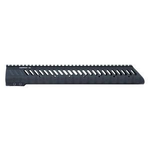 "Diamondhead VRS T-308 Low LR-308 Threaded Free Float Handguard 10.5"" Aluminum Black 2351"