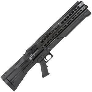 """UTAS UTS-15 Pump-Action Shotgun 12 Gauge 18.5"""" Barrel 15 Round Fixed Stock Matte Black Finish UTS15"""