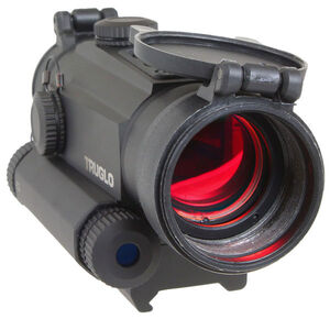 TRUGLO Tru-Tec 2 MOA Red-Dot Sight 30mm Green Laser Matte Black