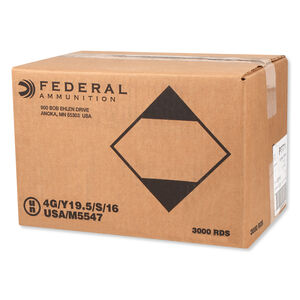 Federal V-Shok .17 HMR Ammunition 3,000 Rounds Polymer Tipped V-Max 17 Grain 2,530 Feet Per Second