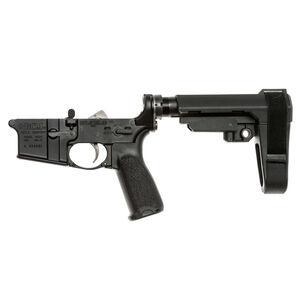 BCM AR-15 Complete Pistol Lower Receiver Forged Aluminum Receiver SBA3 Pistol Stabilizing Brace Matte Black