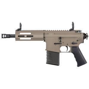 "Kriss USA Defiance DMK22P .22 Long Rifle AR-15 Style Semi Auto Pistol 8"" Barrel 15 Round Capacity 5"" Free Float M-LOK Hand Guard Flat Dark Earth Finish"
