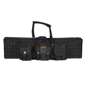 """Voodoo Tactical 42"""" Padded Weapons Case Nylon Black/Coyote"""