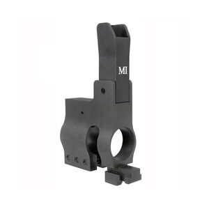 Midwest Industries Folding Front Sight Tower .625 Diameter Aluminum/Steel Black MI-FST-.625