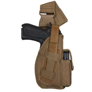 "Fox Outdoor SAS Tactical Leg Holster 5"" Right Handed Nylon Coyote Tan 58-09"