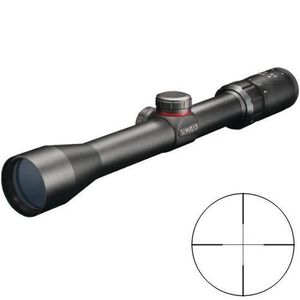 Simmons .22 Mag 3-9x32 Rimfire Riflescope w/ Truplex Reticle & Ring Mounts, Matte Black