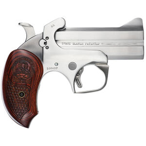 "Bond Arms Snake Slayer .357 Magnum Break Action Derringer 3.5"" Barrels 2 Rounds Extended Rosewood Grip Front Blade Sight/Fixed Rear Sight Natural Finish"