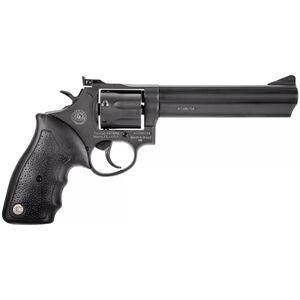 "Taurus Model 66 .357 Magnum Double Action Revolver 6"" Barrel 7 Rounds Soft Rubber Grip Matte Black Oxide Finish"