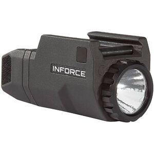 INFORCE APLc Compact Rail Mounted LED Tactical Light 200 Lumen Black