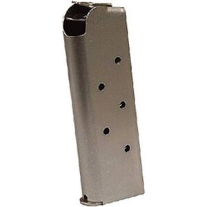Colt 1911 Government/Commander Full Size 7 Round Magazine .45 ACP Stainless Steel Natural Finish