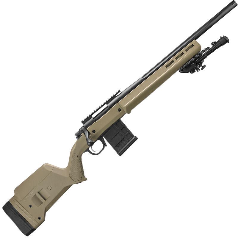 "Remington 700 Magpul Enhanced 6.5 Creedmoor Bolt Action Rifle 20"" Heavy Threaded Barrel 10 Rounds FDE Magpul Hunter Stock Black Cerakote Finish"