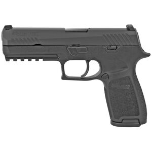 "SIG Sauer P320 Full Size Semi Auto Pistol 9mm Luger 4.7"" Barrel 17 Rounds Polymer Frame with Contrast Sights G320F9B"