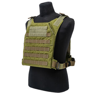 """Grey Ghost Gear Minimalist Plate Carrier 10""""x12"""" Plate Compatible MOLLE/PALS Webbing Ranger Green"""