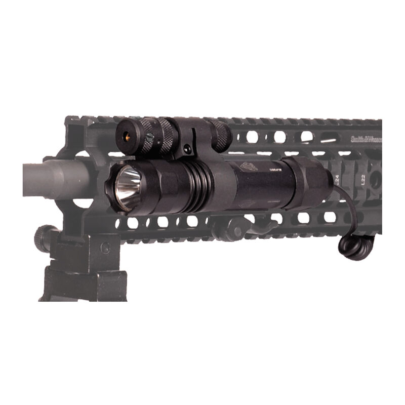 UTG Gen 2 Light/Red Laser Combo Integral Mounting Deck Aluminum Black LT-ELP38Q-A