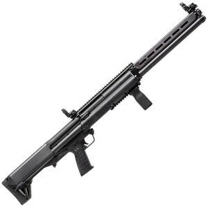 "Kel-Tec KSG-25 Pump Action Shotgun 12 Gauge 30.5"" Barrel 3"" Chamber 24 Rounds Dual Tube Magazines Downward Ejection Ambidextrous Synthetic Stock Matte Black Finish"