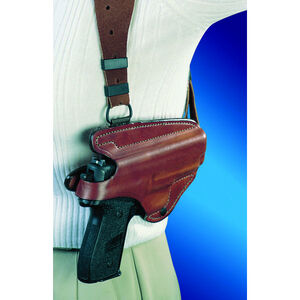 Bianchi X16 Agent Shoulder Holster System Right Hand Fits GLOCK 20/21 Leather Tan