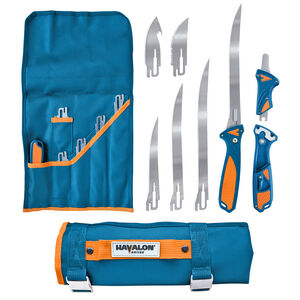 Havalon Talon Fish Interchangeable Fixed Blade Kit with Four Blades and Nylon Roll Pack