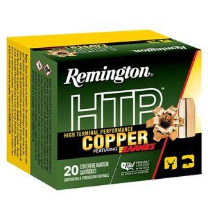 Remington HTP Copper .357 Magnum Ammunition 20 Rounds 140 Grain Barnes XPB Copper Hollow Point 1265fps