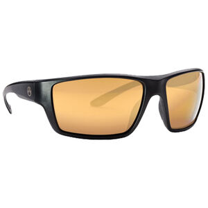 Magpul Terrain Eyewear Bronze/Gold Mirror Polycarbonate Lens Z87+ and MIL-PRF 32432 Rated TR90NZZ Frame Black
