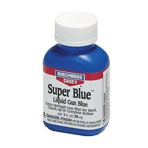 Birchwood Casey Super Blue Liquid Gun Blue 3 Ounces 13425