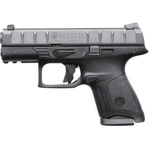"Beretta APX Compact 9mm Luger Semi Auto Pistol 3.7"" Barrel 13 Rounds Polymer Frame Black"