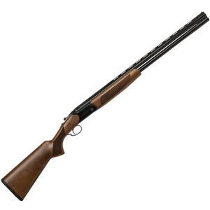 "CZ-USA Drake Over/Under Break Action Shotgun 12 Gauge 28"" Vent Rib Barrels 2 Rounds 3"" Chamber Turkish Walnut Stock With Pistol Grip Gloss Black Chrome Finish"