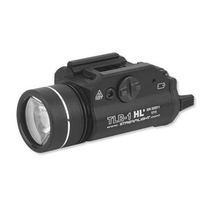 Streamlight TLR-1 HL LED Tactical Light for Firearms, 800 Lumens, Aluminum, Black