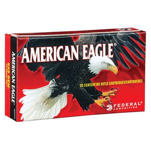 Federal American Eagle .223 Remington Ammunition 20 Rounds TMJ 75 Grains