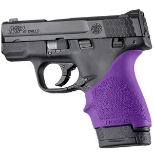 Hogue HandAll Beavertail Grip Sleeve S&W M&P Shield 9mm/.40 and Ruger LC9 Purple