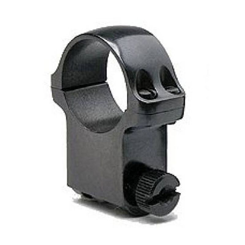 """Ruger 1"""" Scope Ring Extra High Blued Finish 90272"""
