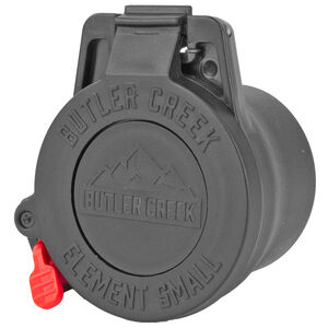 Butler Creek Element Scope Cap Black 37mm-42mm