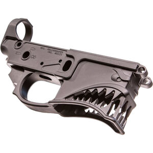 Sharps Bros. Hellbreaker Stripped AR-15 Lower Receiver 7075-T6 Aluminum Anodized Black