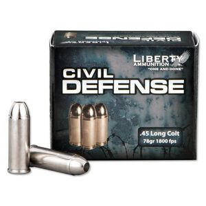 Liberty .45 LC 78 Grain Fragmenting Copper HP 20 Round Box
