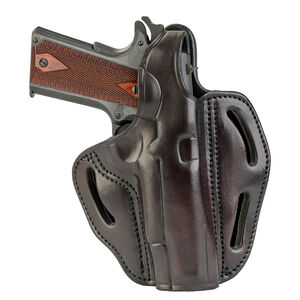 1791 Gunleather BHX-1 Dual Position OWB Thumb Break Belt Holster Full Size 1911 Models Right Hand Draw Leather Signature Brown