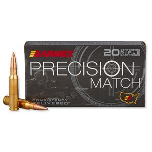 Barnes Precision .308 Win Match Ammunition 20 Rounds 175 Grain OTM
