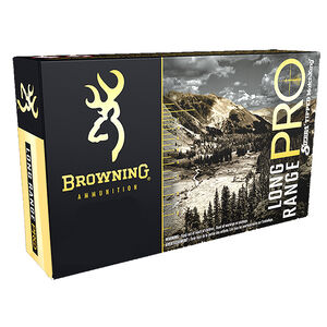 Browning LRP .300 WSM Ammunition 20 Rounds Tipped MatchKing Projectile 195 Grains 2850 fps