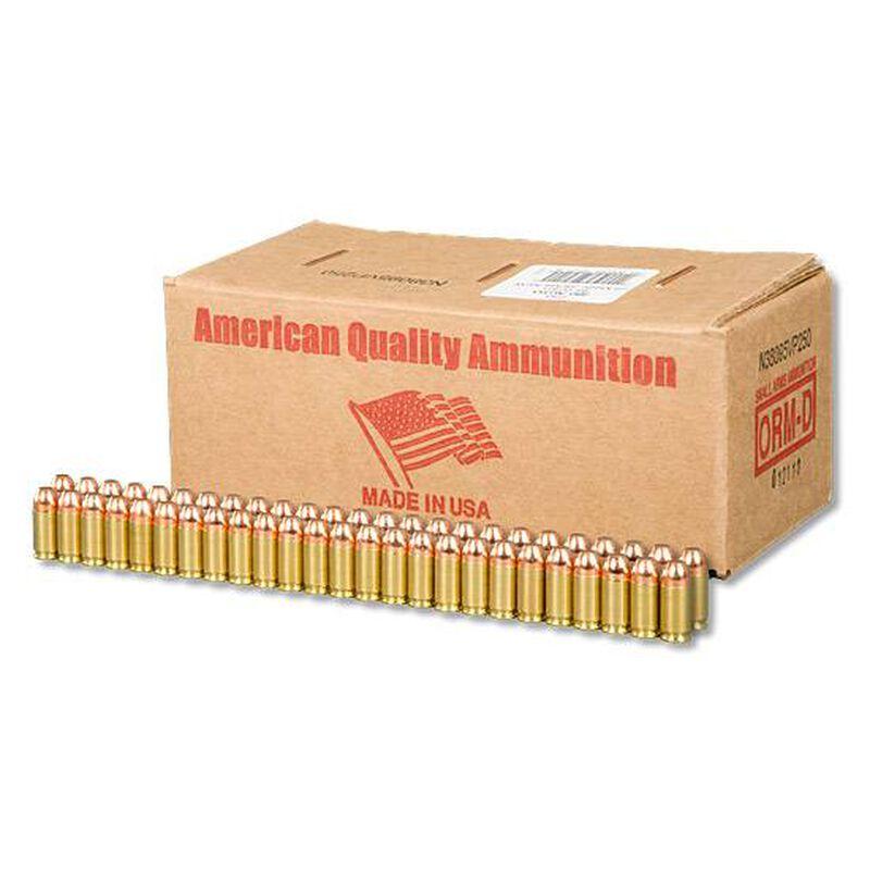 American Quality .380 ACP Ammunition 250 Rounds FMJ 95 Grain