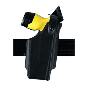Safariland Model 6520 Taser X26P EDW Level II Retention Duty Holster Right Hand STX Basketweave Black 6520-364-481