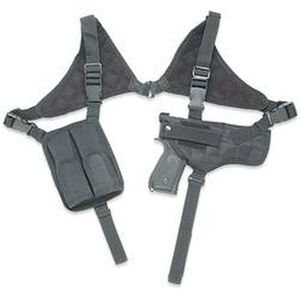Leapers UTG Law Enforcement Horizontal Shoulder Holster Ambidextrous Polyester Black