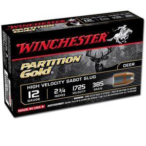 "Winchester 12 Gauge 2.75"" 5 Rounds Sabot Slug 385 Grains"