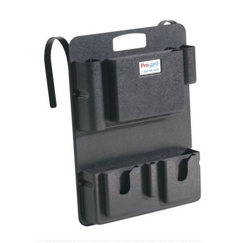 Pro-gard Portable Seat Organizer ABS Multipocket Black