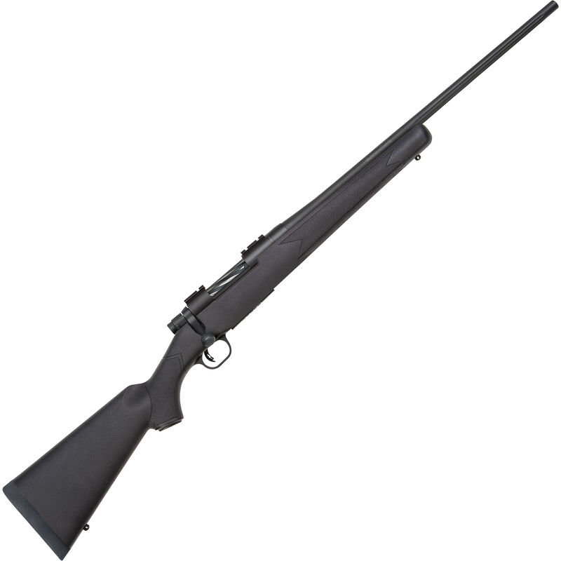 "Mossberg Patriot Hunting Bolt Action Rifle 6.5 Creed 22"" Fluted Barrel 4 Rounds Synthetic Stock Matte Blued"